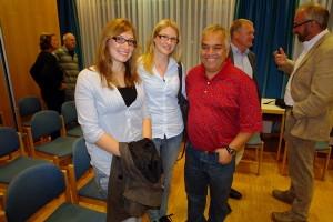 Marie, Saskia und Dr. Christian Aponte