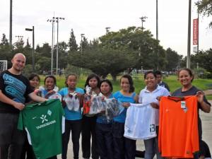 Sieger bei den Mädchen: Team Las chiquitas