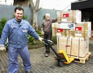 Gemeinsam mit anderen Spenden treten die PCs die Reise nach Togo an